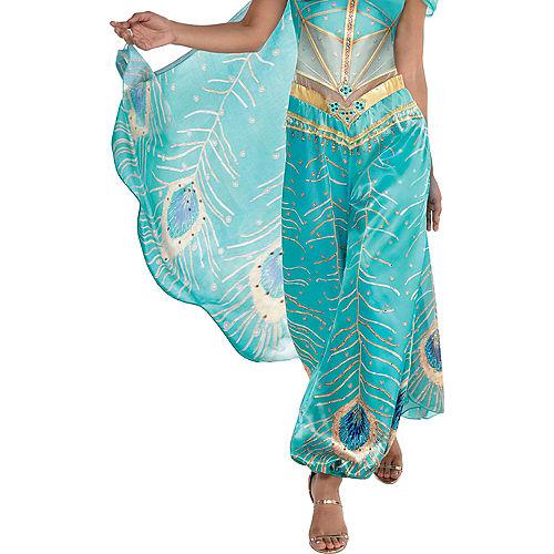 Adult Jasmine Whole New World Costume - Aladdin Live-Action Image #5