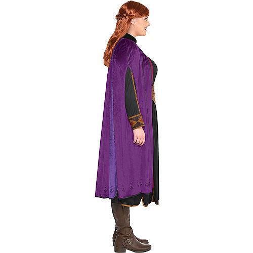 Adult Act 2 Anna Costume Plus Size - Frozen 2 Image #2