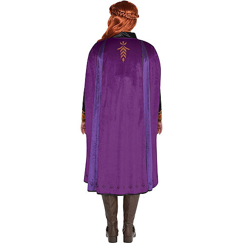 Adult Act 2 Anna Costume Plus Size - Frozen 2 Image #3