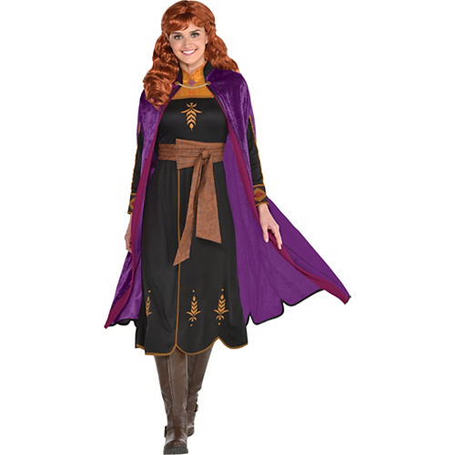 Adult Act 2 Anna Costume - Frozen 2 Image #1