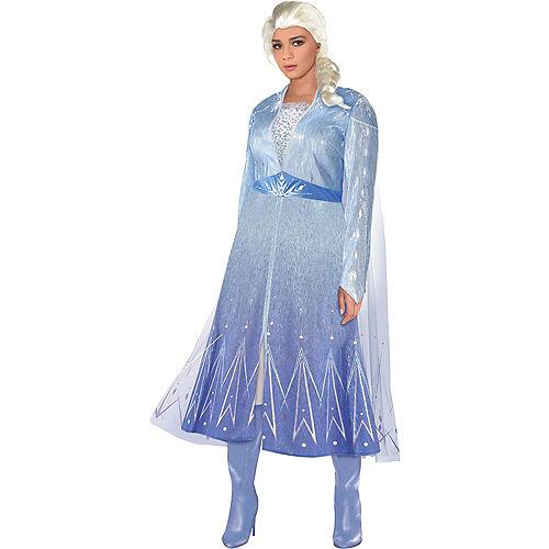 Adult Act 2 Elsa Costume Plus Size - Frozen 2 Image #1