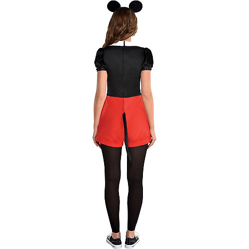 Adult Trendy Mickey Mouse Costume Image #2