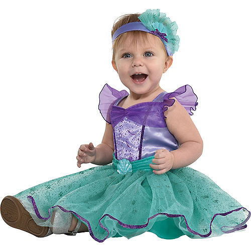Baby Classic Ariel Costume - Disney The Little Mermaid Image #2