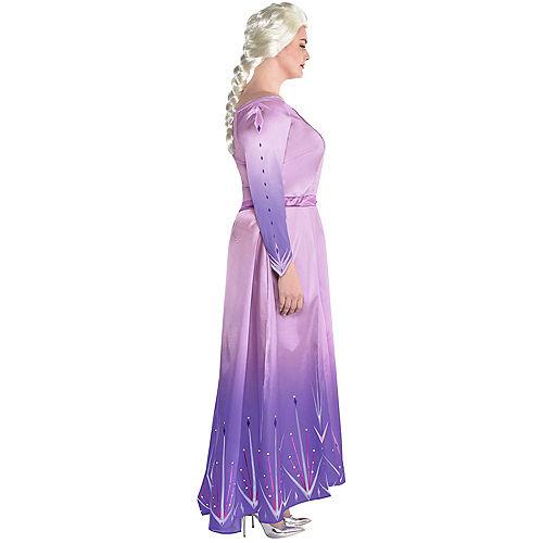 Adult Act 1 Elsa Costume Plus Size - Frozen 2 Image #2