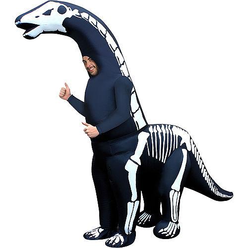 Adult Inflatable Skeleton Diplodocus Costume Image #1