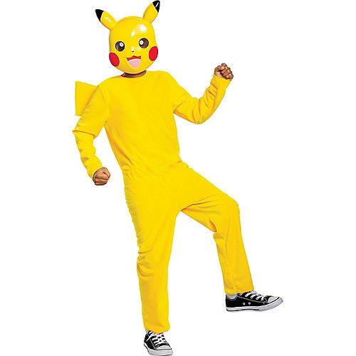 Child Classic Pikachu Costume - Pokemon Image #1