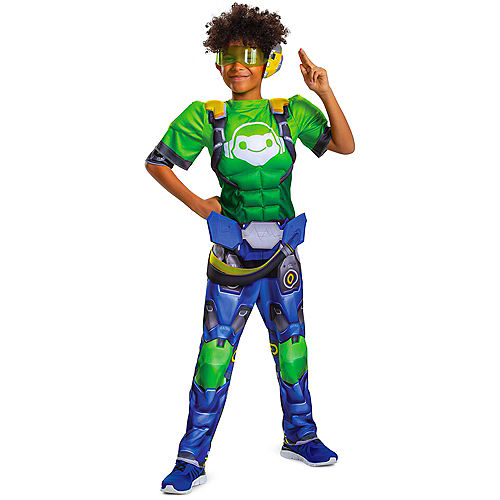 Child Lucio Muscle Costume - Overwatch Image #1