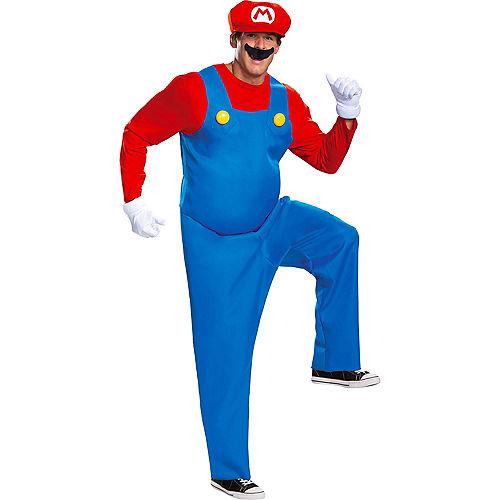Adult Mario Costume - Super Mario Brothers Image #1