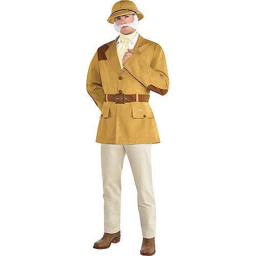 Adult Colonel Mustard Costume - Clue Image #1