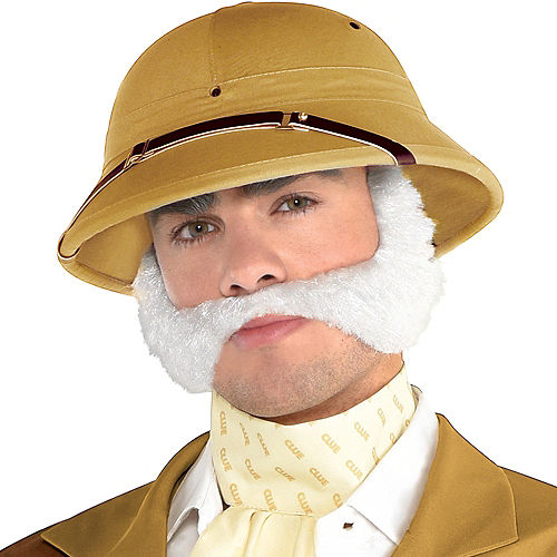 Adult Colonel Mustard Costume - Clue Image #3