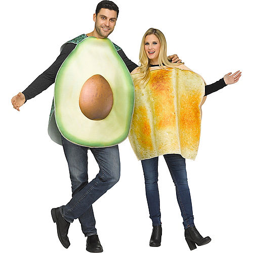 Adult Avocado & Toast Couples Costumes Image #1