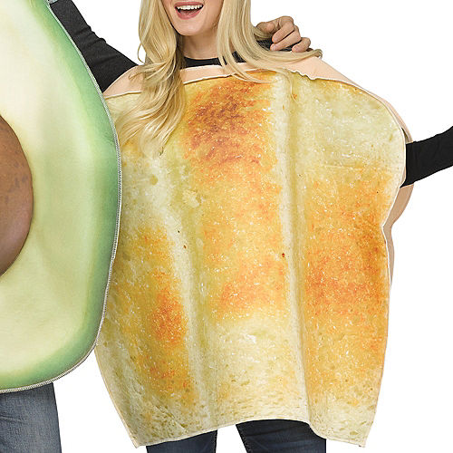 Adult Avocado & Toast Couples Costumes Image #3