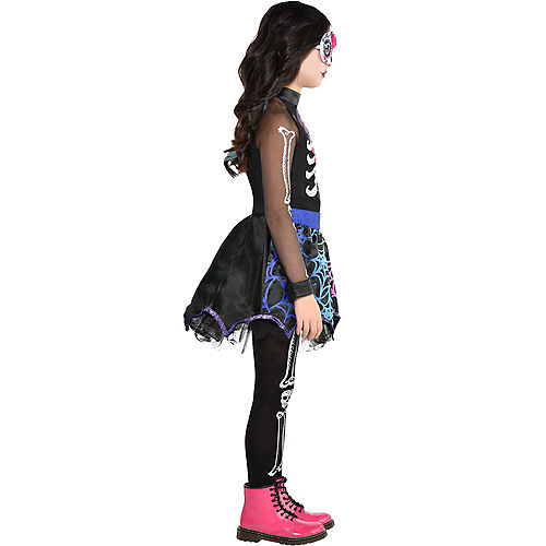 Child Trendy Day of the Dead Costume Image #2