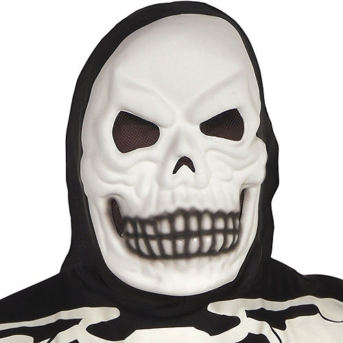 Adult Glow-in-the-Dark X-Ray Skeleton Costume Plus Size Image #2