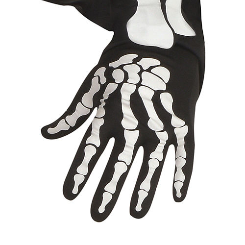 Adult Glow-in-the-Dark X-Ray Skeleton Costume Plus Size Image #3