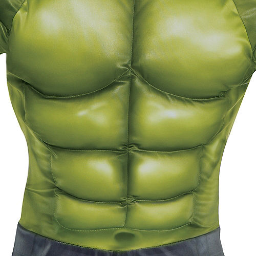 Adult Hulk Muscle Costume - Avengers: Endgame Image #3