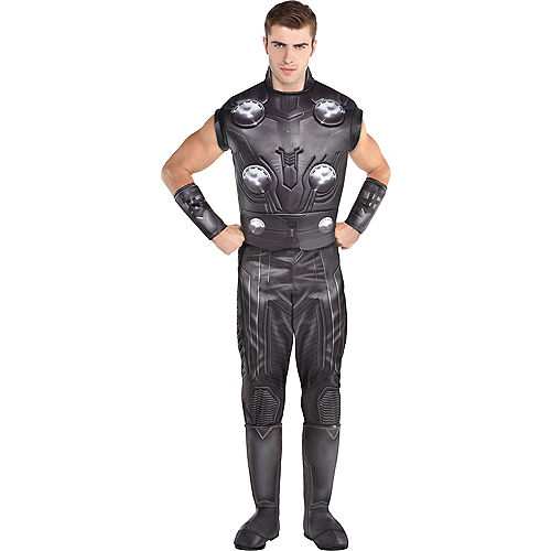 Adult Thor Muscle Costume - Avengers: Endgame Image #1
