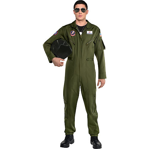 Maverick Flight Suit Costume for Men - Top Gun 2 Image #1
