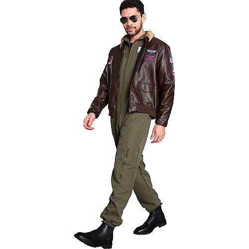 Maverick Flight Suit Costume for Men - Top Gun 2 Image #3