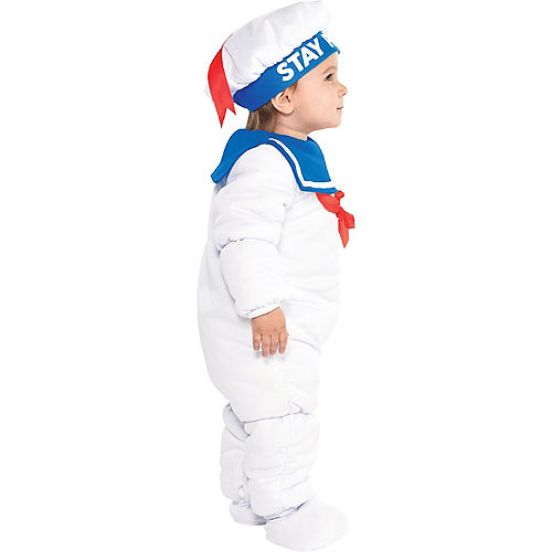 Baby Padded Stay Puft Marshmallow Man Costume - Ghostbusters Image #2