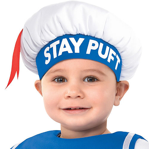 Baby Padded Stay Puft Marshmallow Man Costume - Ghostbusters Image #3