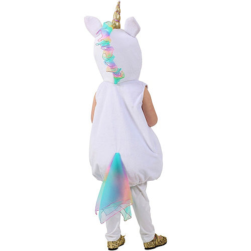 Baby Pastel Unicorn Costume Image #2