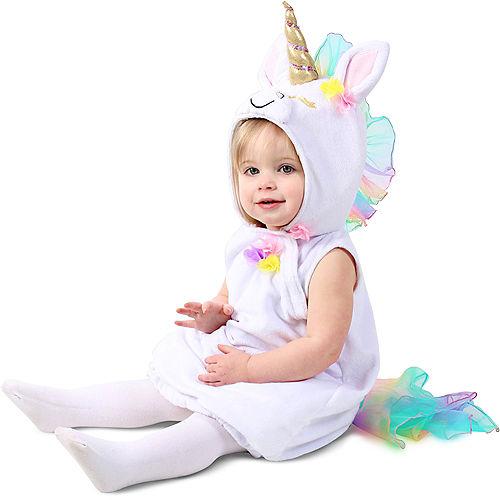 Baby Pastel Unicorn Costume Image #3