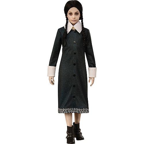 Child Wednesday Addams Costume - The Addams Family Animated Movie Image #1