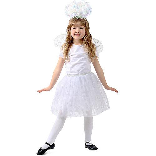 Child Tinsel Angel Costume Accessory Kit Image #1