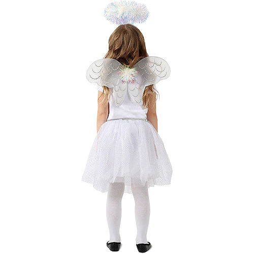 Child Tinsel Angel Costume Accessory Kit Image #2