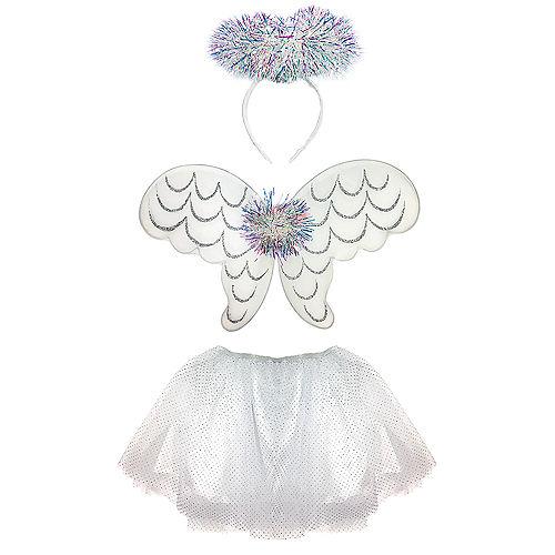 Child Tinsel Angel Costume Accessory Kit Image #3