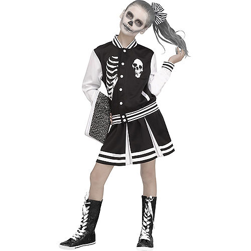 Child Scare Squad Skeleton Costume Image #1