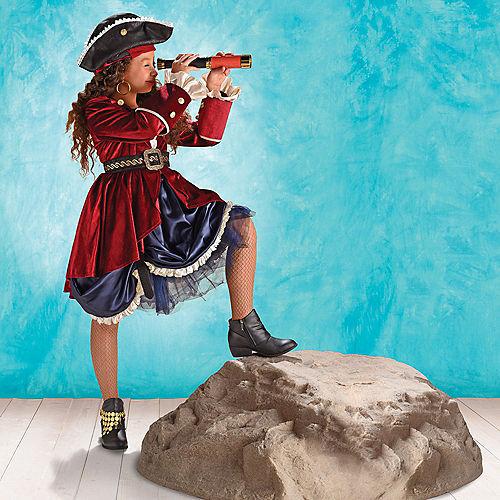 Child Dazzling Pirate Costume Image #1