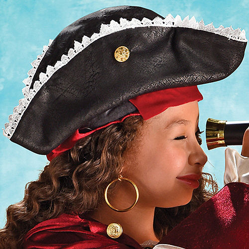 Child Dazzling Pirate Costume Image #2