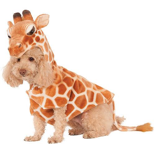 Giraffe Hoodie Dog Costume Image #1