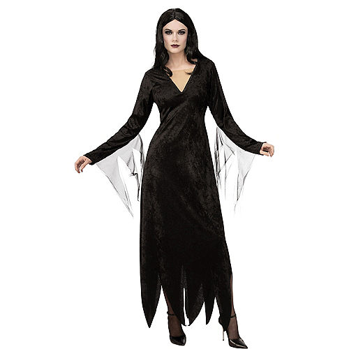 Adult Morticia Addams Costume - The Addams Family Animated Movie Image #1
