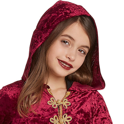 Child Hooded Witch Cloak Costume Image #2