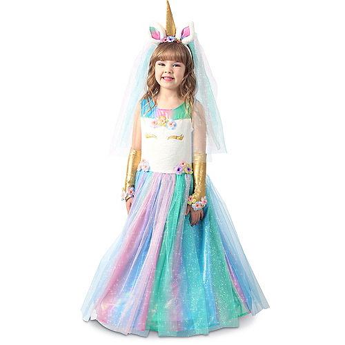 Child Lovely Lady Unicorn Costume Image #1
