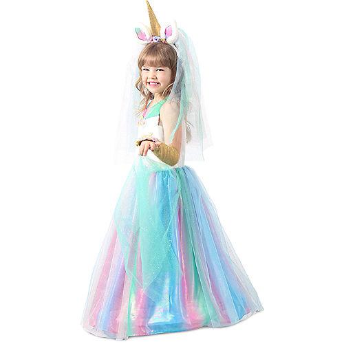 Child Lovely Lady Unicorn Costume Image #2