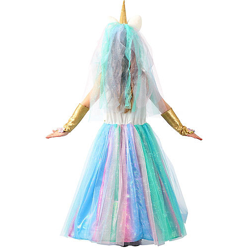 Child Lovely Lady Unicorn Costume Image #3