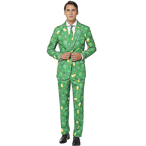 St. Patrick's Day Lucky Beer Suit Image #1