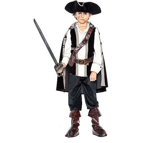 Child Pirate Captain Costume Image #1