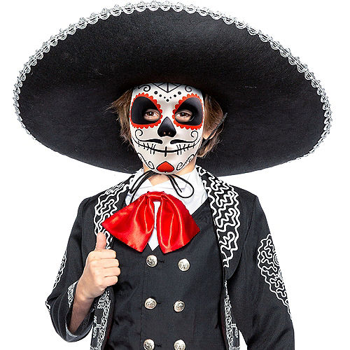 Child Traditional Day of the Dead Costume Image #2