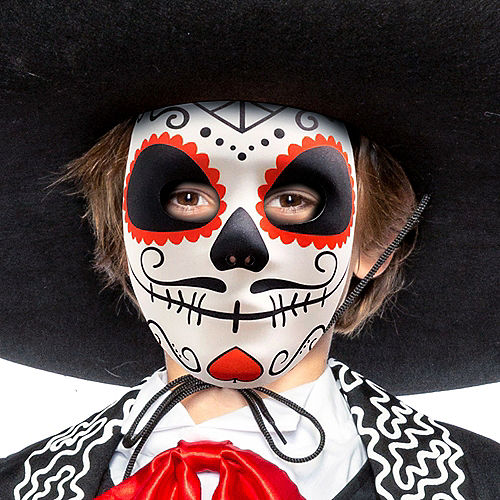 Child Traditional Day of the Dead Costume Image #3