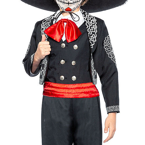 Child Traditional Day of the Dead Costume Image #4