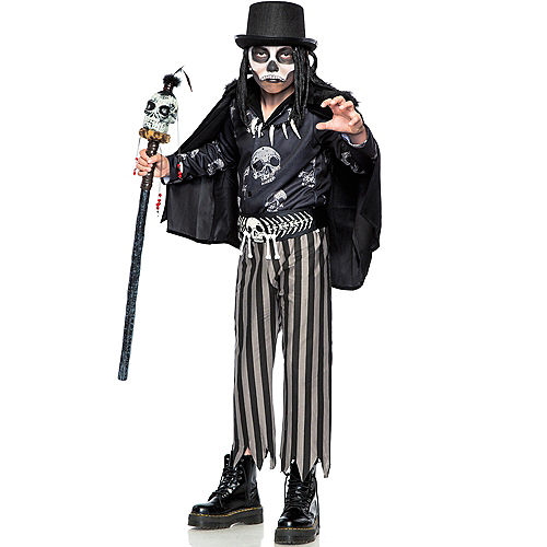 Child Voodoo Legba Costume Image #1