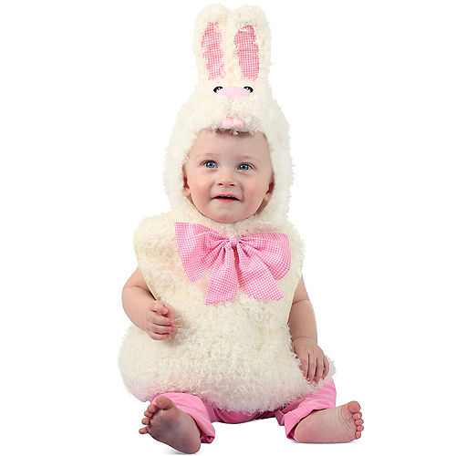 Nav Item for Baby Gingham Bunny Costume Image #1