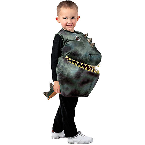 Child Feed Me Dinosaur Costume Image #1