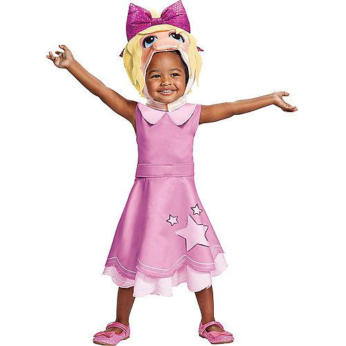 Toddler Miss Piggy Costume - Muppet Babies Image #1