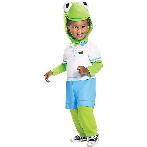 Toddler Kermit the Frog Costume - Muppet Babies Image #1